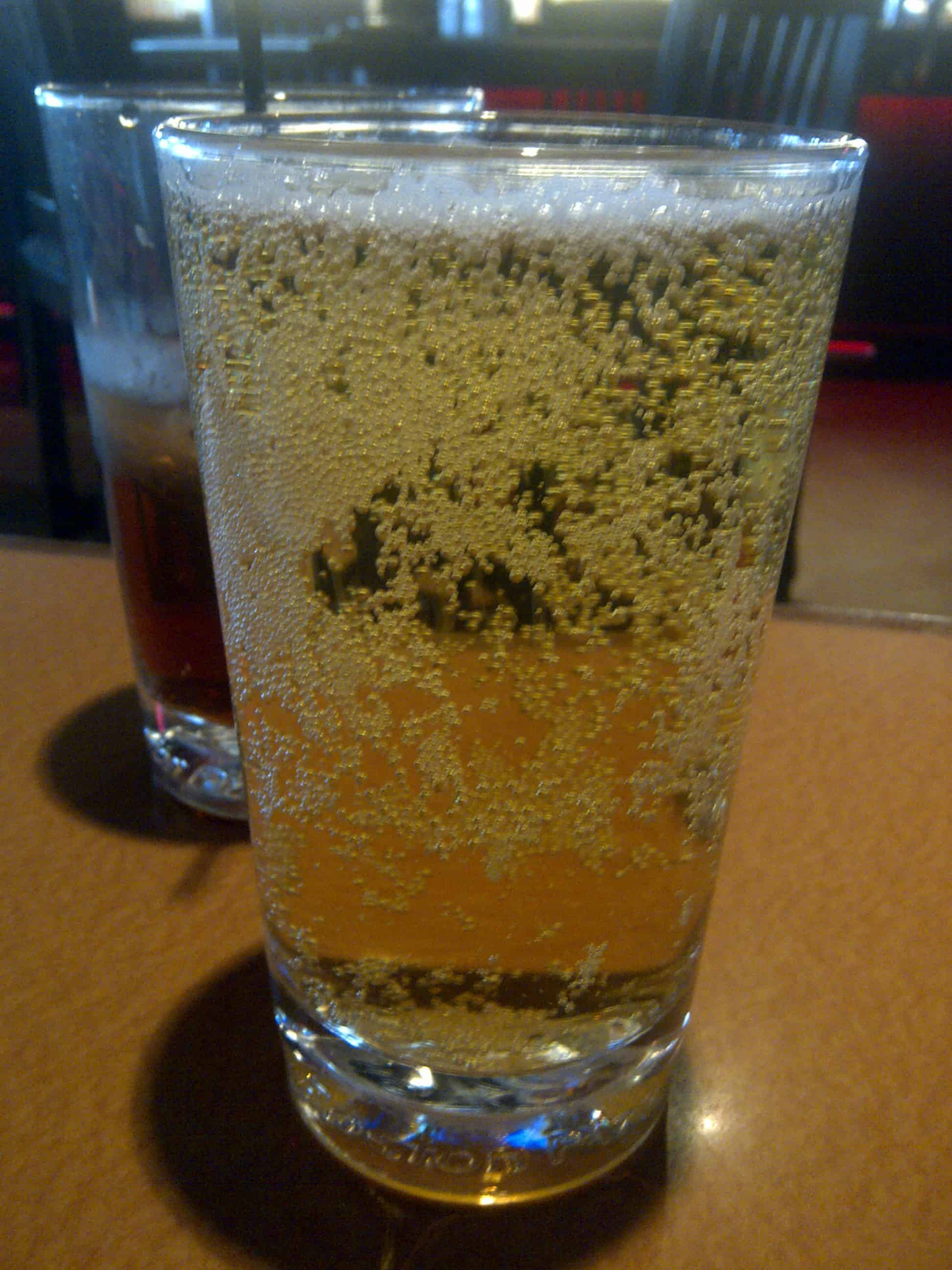 Dirty Beer Glass