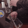 Filling Growler