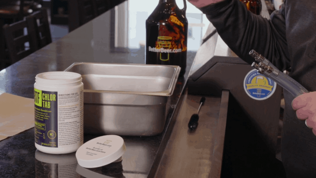 Cleaning Draft Filler Tubes