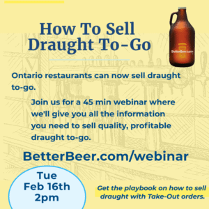 Draught To Go Webinar